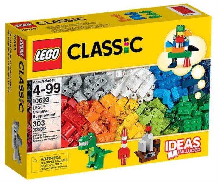 poškozený obal: Tvořivé doplňky LEGO® 10693