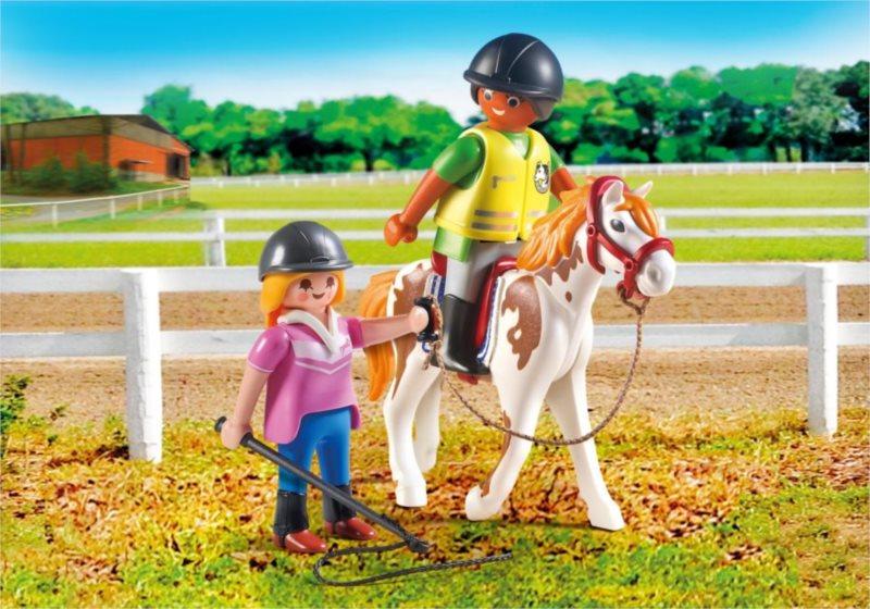 PLAYMOBIL Učitelka jízdy na koni 9258