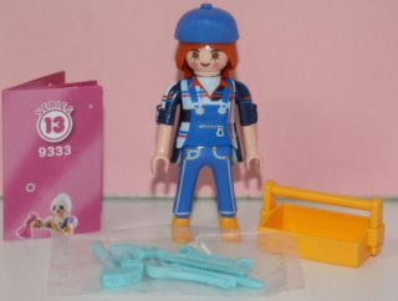 Playmobil 9333 Figurky pro holky - Údržbářka (série 13)