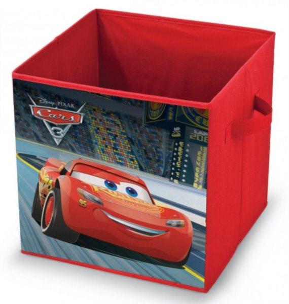 Úložný box Auta 32x32x32cm