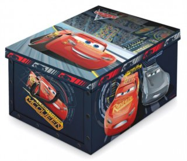 Úložný box Auta 50x39x24cm