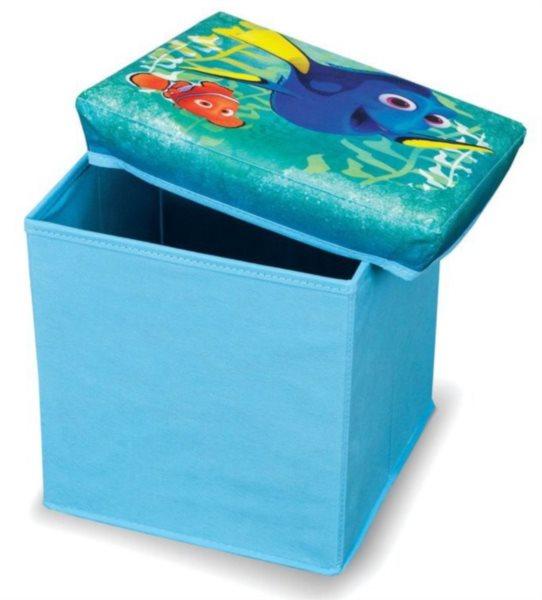 Úložný box Hledá se Dory 30x30x30cm