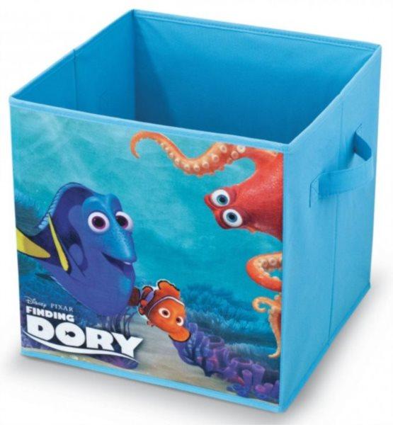 Úložný box Hledá se Dory 32x32x32cm