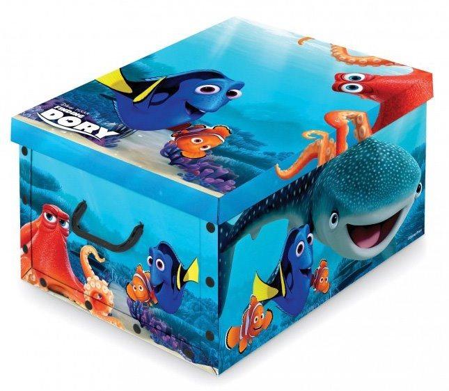 Úložný box Hledá se Dory 50x39x24cm