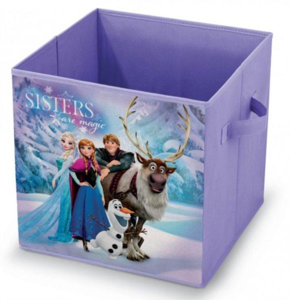 Úložný box Ledové království 32x32x32cm