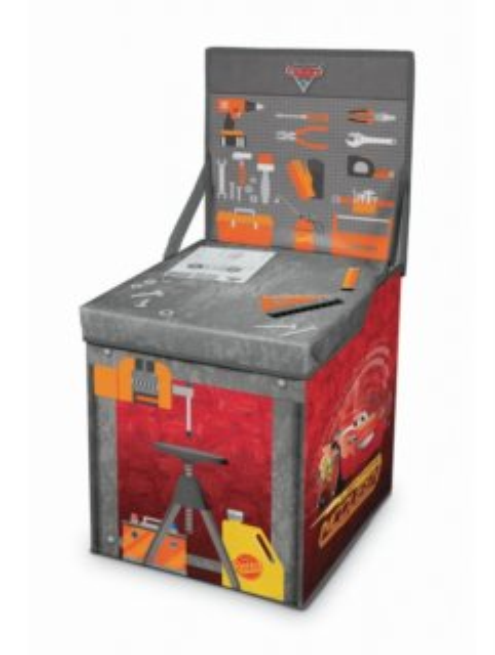 Úložný box - hrací stoleček Auta 2v1