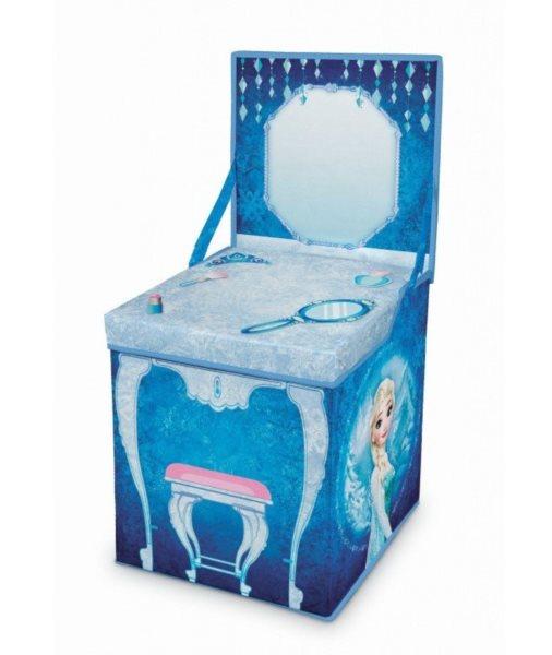 Úložný box - hrací stoleček Ledové království 2v1