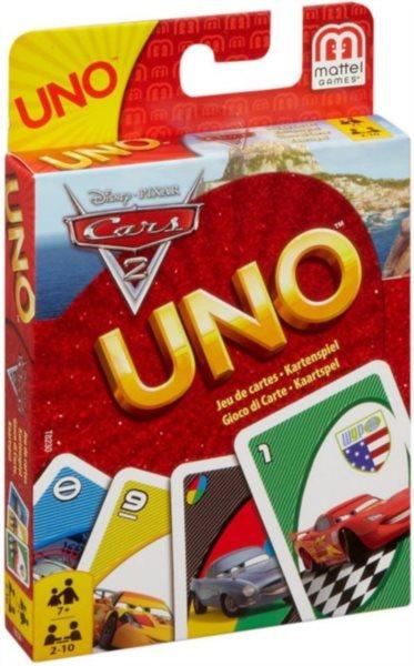 UNO karetní hra - Cars 2, Mattel