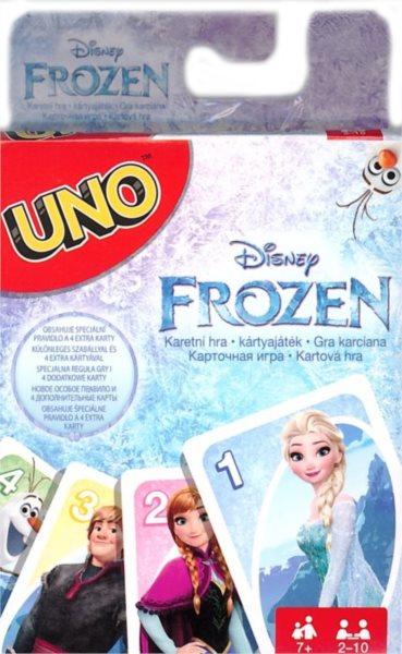 MATTEL - UNO karetní hra - Ledové království