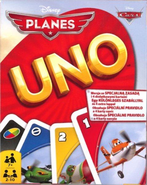 UNO karetní hra - Letadla, Mattel