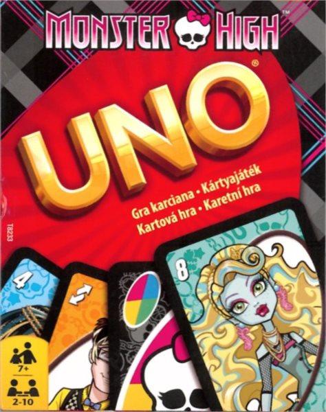 UNO karetní hra - Monster High