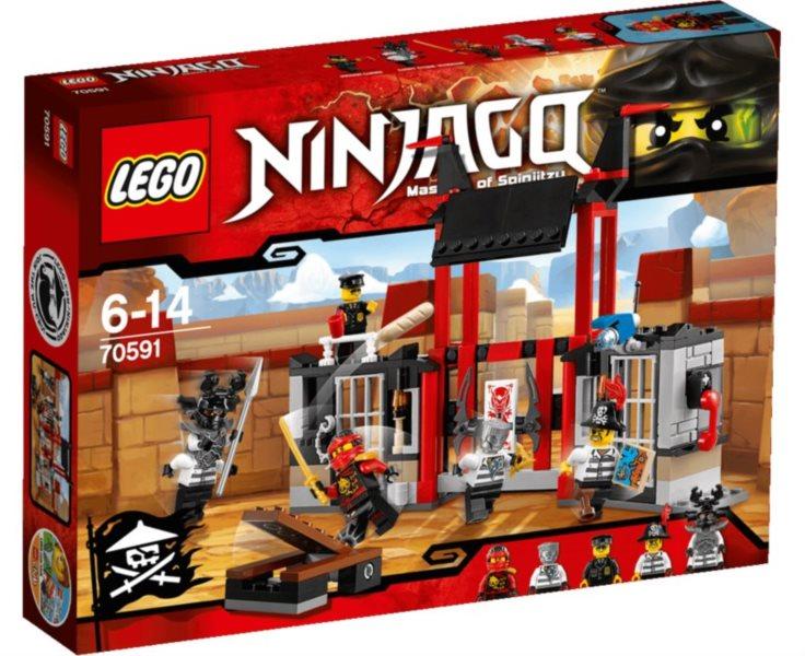 Stavebnice LEGO® 70591 Útěk z vězení Kryptarium