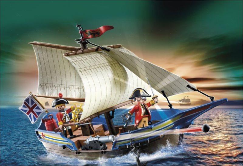 poškozený obal: Playmobil 5140 Útočná loď vojenské gardy