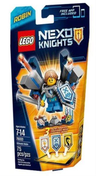 Stavebnice LEGO® Nexo Knights 70333 Úžasný Robin