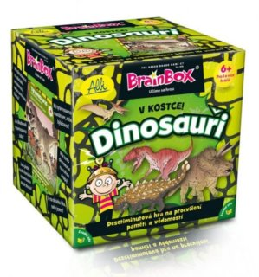 Rodinná hra - Hra V kostce! - Dinosauři, ALBI