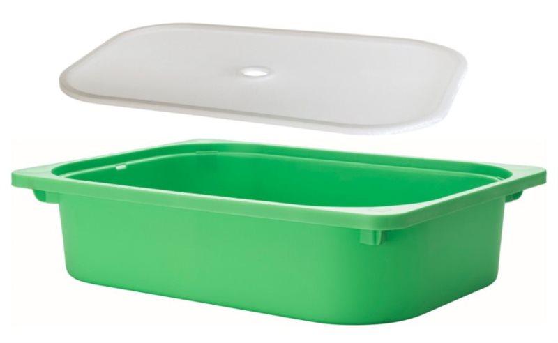 Vanička na písek - zelená