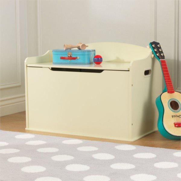 KIDKRAFT Dřevěný box na hračky Austin - vanilkový