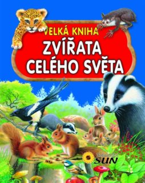 Velká kniha: Zvířata celého světa, Nakladatelství SUN