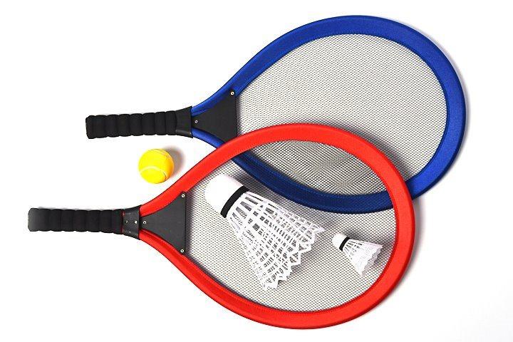 MAC TOYS Velké pálky na plážový tenis,badminton