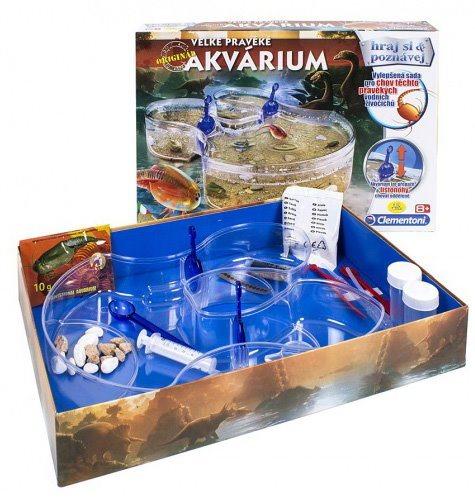 Experimentální sada Velké pravěké akvárium ALBI