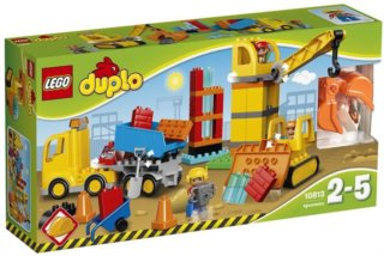 poškozený obal: Stavebnice LEGO® DUPLO® 10813 Velké staveniště