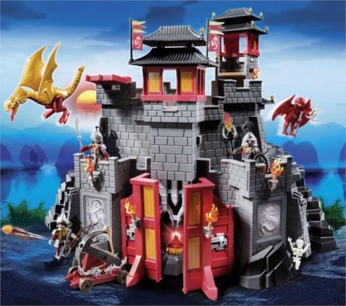 poškozený obal: Playmobil 5479 Velký Asijský hrad
