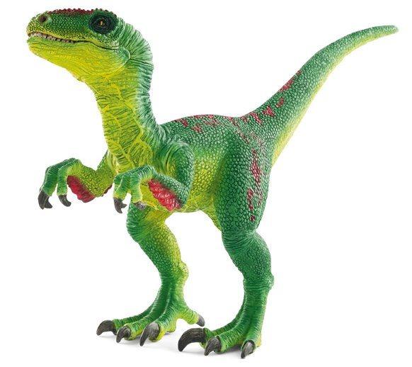 Velociraptor s pohyblivou čelistí