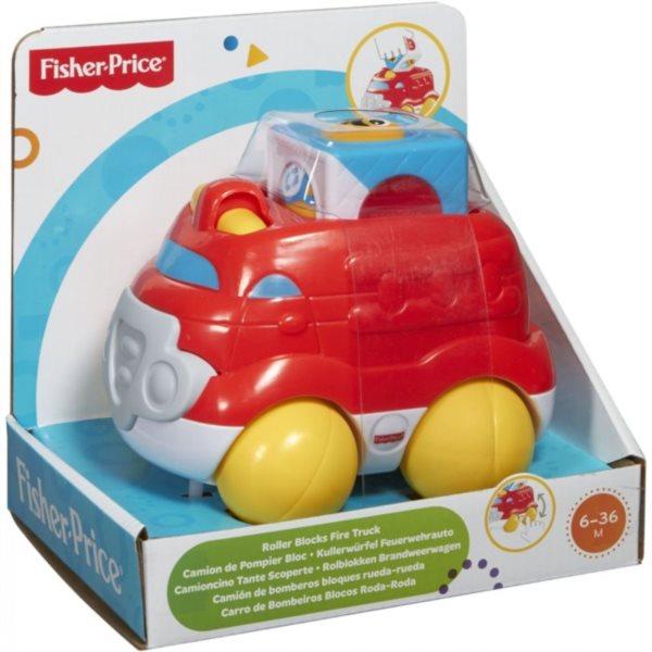 FISHER-PRICE - Veselé vozidlo - Hasiči