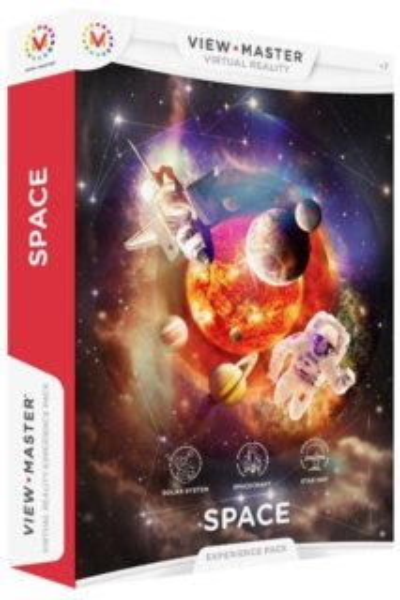 MATTEL View Master Zážitkový balíček: Vesmír
