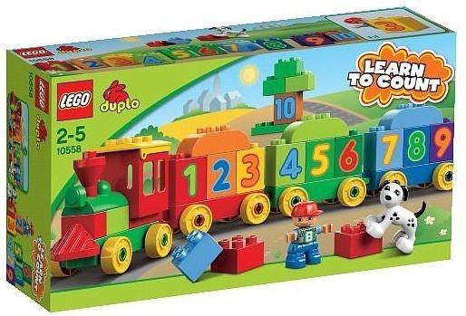 Stavebnice LEGO® DUPLO® 10558 Vláček plný čísel
