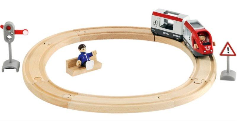 BRIO 33511 Vláčkodráha s osobním vlakem