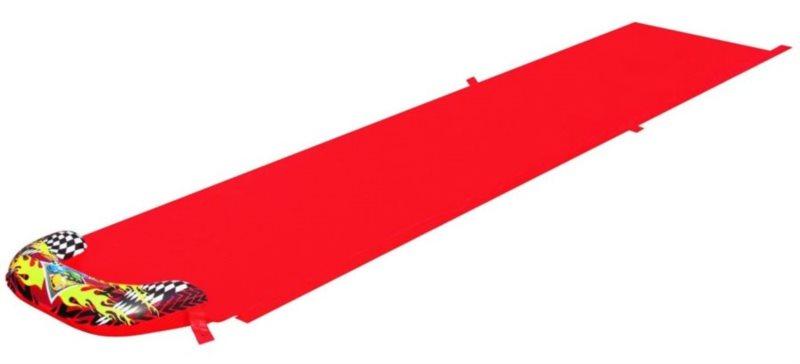 Vodní skluzavka červená
