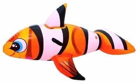 Nafukovací ryba - klaun