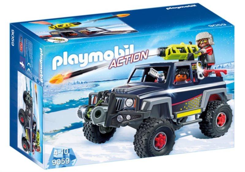 PLAYMOBIL Vozidlo ledních pirátů 9059