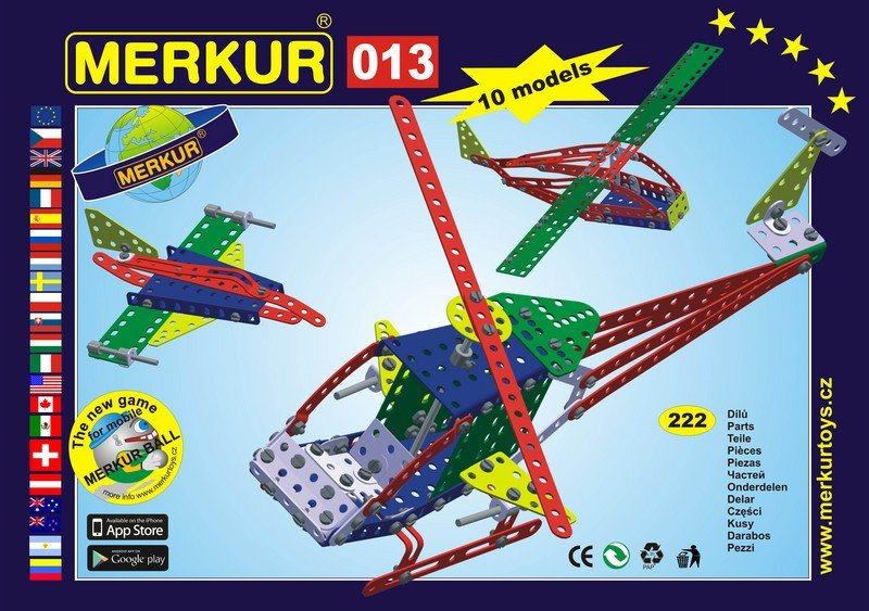 Stavebnice MERKUR - Vrtulník M013