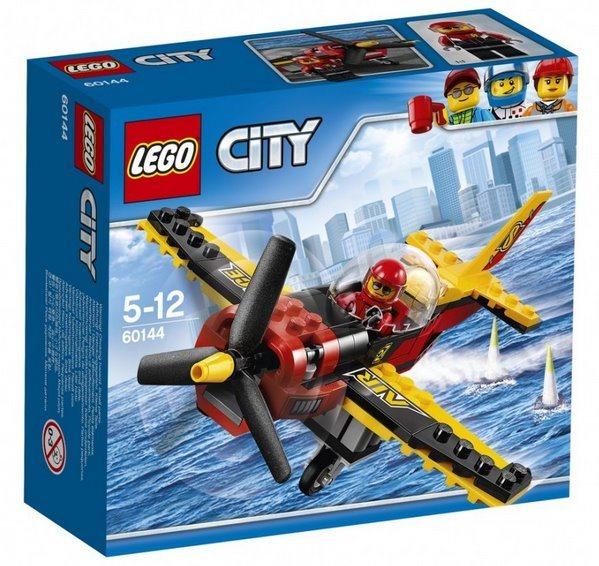 Stavebnice LEGO® City 60144 Závodní letadlo