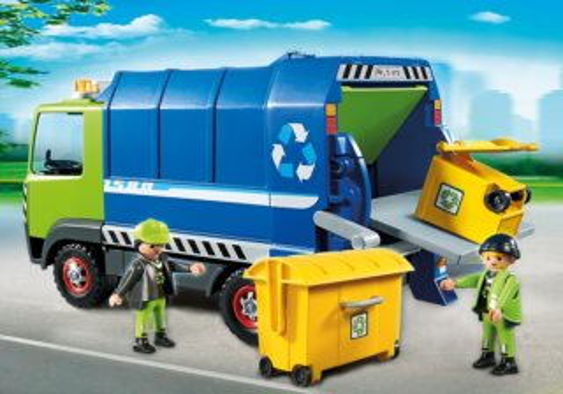Vůz na tříděný odpad 6110