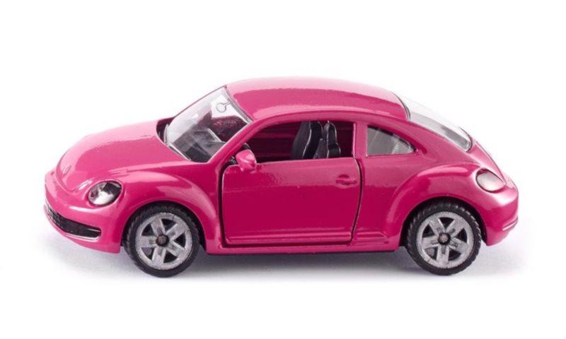 SIKU 1488 VW Brouk růžový s nálepkami