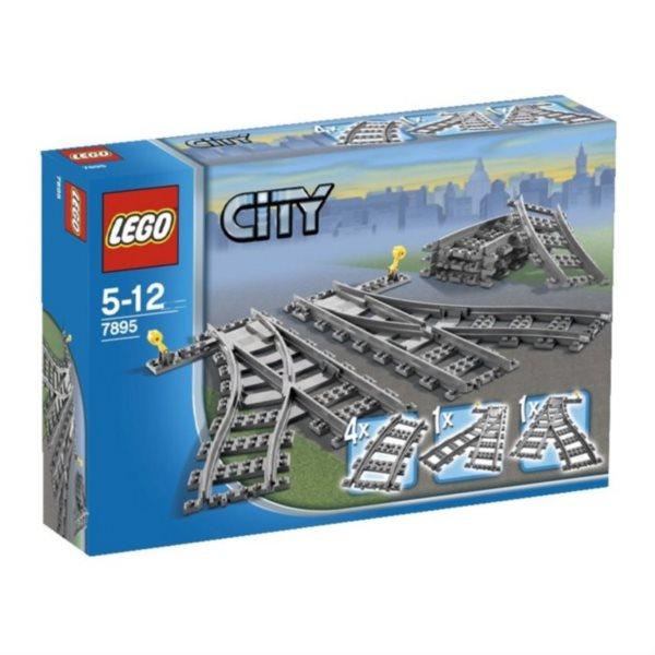 Stavebnice LEGO® City 7895 Výhybky