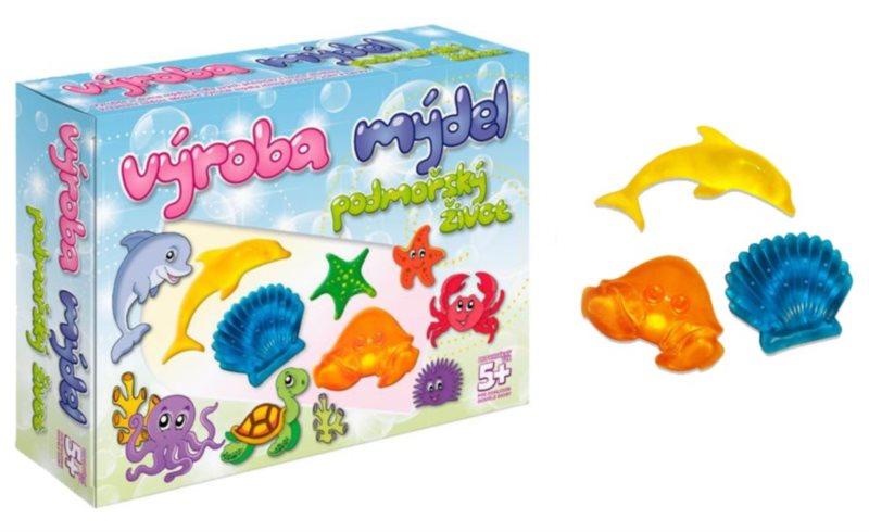 Výroba mýdel - Podmořský svět