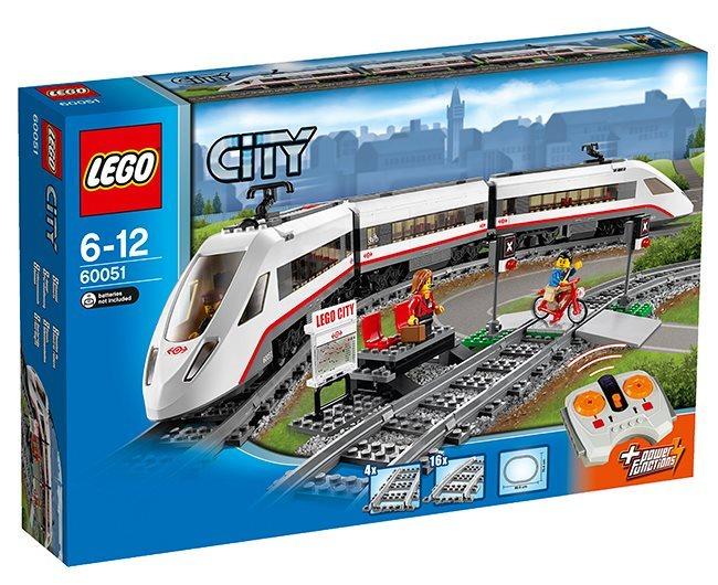 LEGO® 60051 - Vysokorychlostní osobní vlak LEGO City