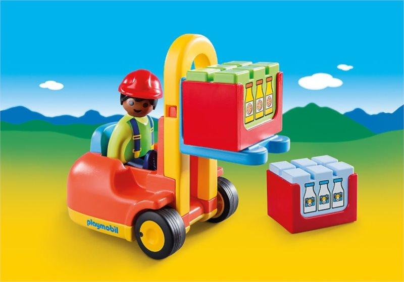 Playmobil 6959 Vysokozdvižný vozík (1.2.3)