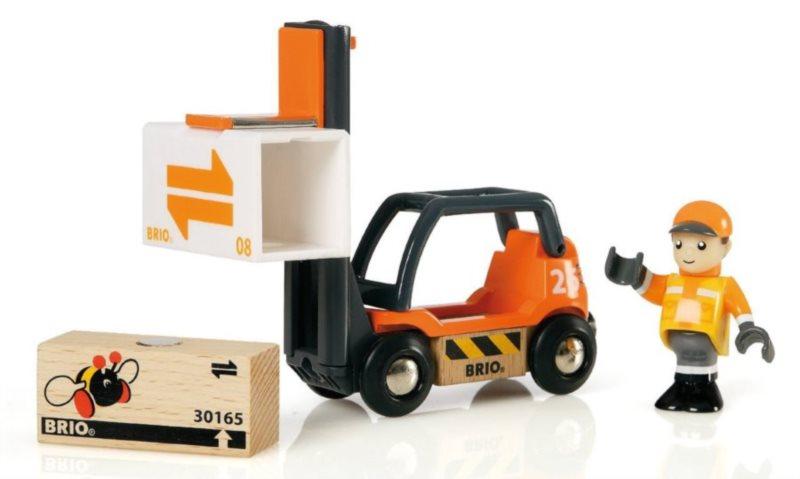 BRIO Vysokozdvižný vozík pro přepravu palet