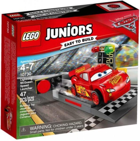 Stavebnice LEGO® Juniors 10730 Vystřelovač Bleska McQueena