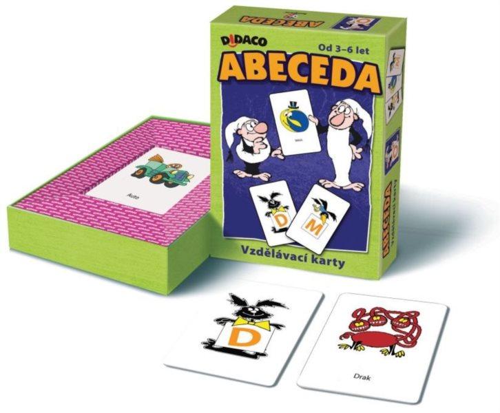 Vzdělávací karty - Abeceda Křemílek a Vochomůrka