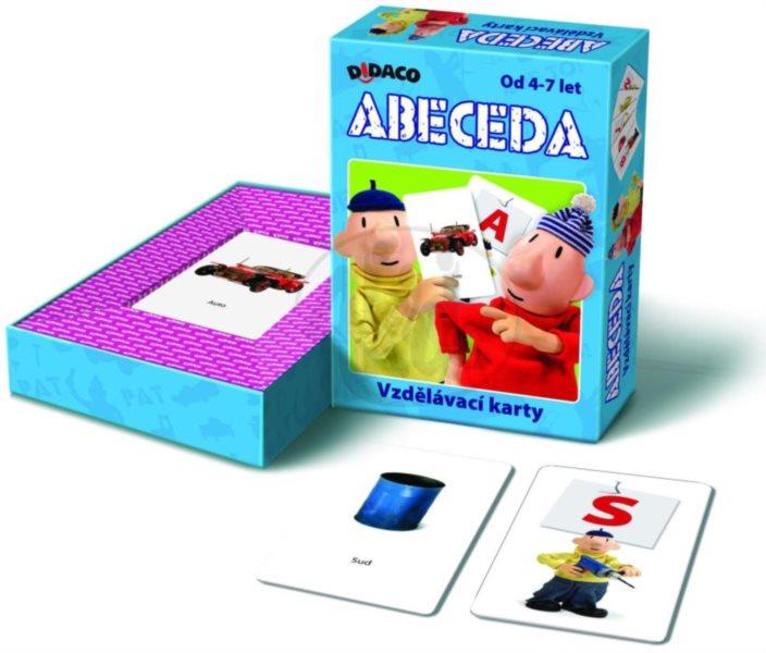 Vzdělávací karty - Abeceda Pat a Mat