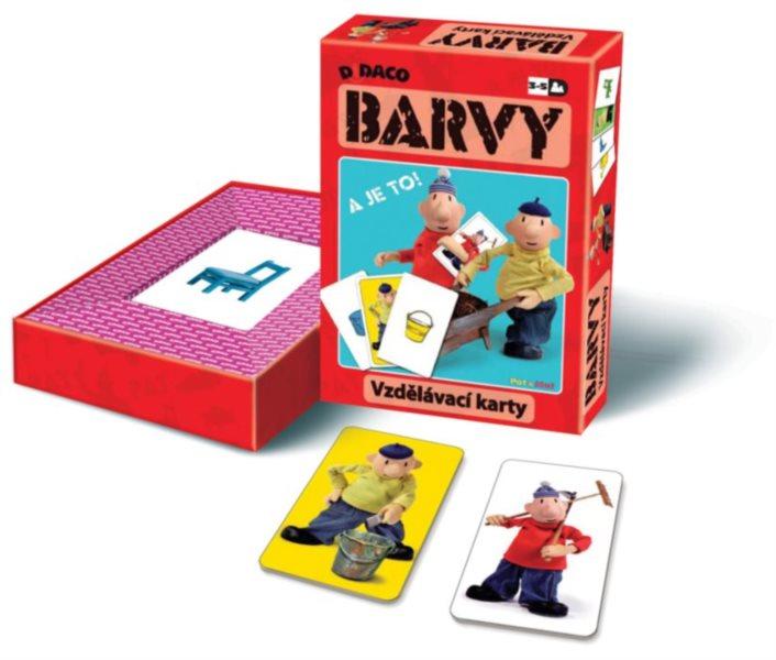 Vzdělávací karty - Barvy Pat a Mat