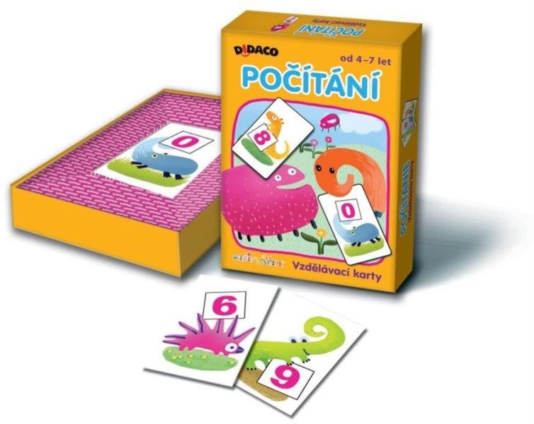 BONAPARTE - Didaco - Vzdělávací karty - Počítání Animáček