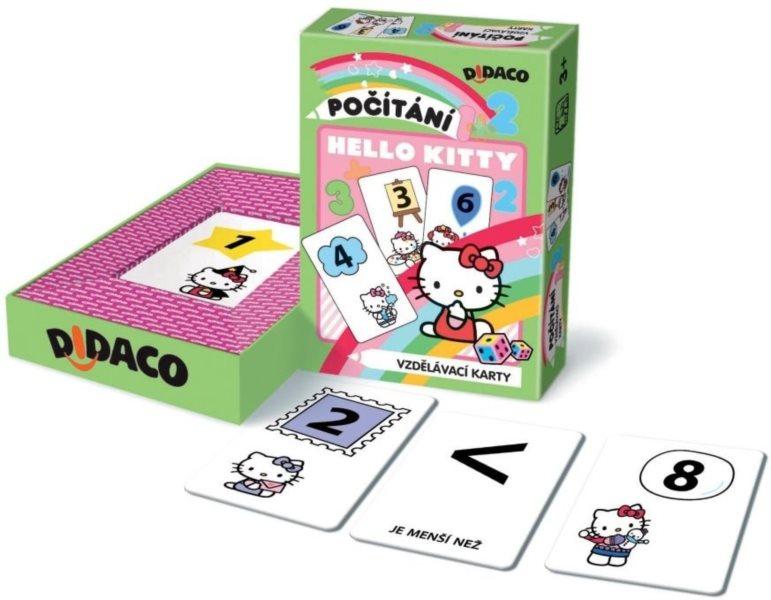 BONAPARTE - Didaco - Vzdělávací karty - Počítání Hello Kitty
