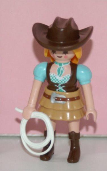 Playmobil 9333 Figurky pro holky - Westernová jezdkyně (série 13)